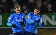 Der BVB steht angeblich vor einer Verpflichtung von Leverkusens Julian Brandt (l., mit Kai Havertz)