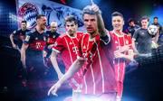 FC Bayern München Triple Check Kader