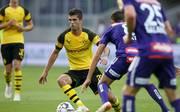 Christian Pulisic bereitete in Wien die BVB-Führung durch Alexander Isak vor