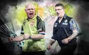 Michael van Gerwen und Gary Anderson duellieren sich im Halbfinale