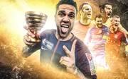 Dani Alves Fußballer mit den meisten Titeln