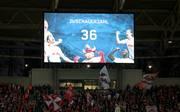 RB Leipzig feierte laut Anzeigetafel vor 36 Zuschauern einen 3:0-Sieg gegen Leverkusen