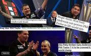 Die Pressestimmen zu Gary Andersons Triumph bei der Darts-WM