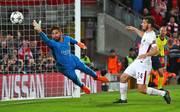 Liverpool-Neuzugang Alisson Becker (l.) glänzte in der vergangenen Saison noch für AS Rom