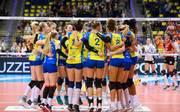 Auch nach dem Spitzenspiel gegen Dresden bleiben die Schwerinerinnen ungeschlagen