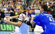 In der Vorrunde trennten sich Deutschland (l.: Paul Drux) und Frankreich Unentschieden