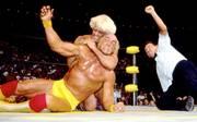 Hulk Hogan besiegte am 17. Juli 1994 bei seinem WCW-Debüt Ric Flair