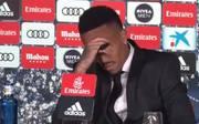 Eder Militao fühlte sich bei seiner Vorstellung als Spieler von Real Madrid nicht wohl