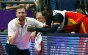 Dennis Schröder (r.) führte Deutschland ins Viertelfinale der Basketball-EM