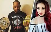 Taeler Hendrix (r.) erhebt schwere Vorwürfe gegen ROH-Champion Jay Lethal