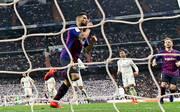 Luis Suarez jubelt im Clasico gegen Real Madrid für den FC Barcelona