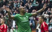 Werder Bremen's Brazilian defender Naldo
