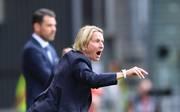 Martina Voss-Tecklenburg trainierte davor die Schweizer Nationalmannschaft