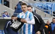 Neonazi-Eklat: Daniel Frahn vom Chemnitzer FC wehrt sich gegen Vorwürfe , Daniel Frahn vom Chemnitzer FC steht nach seinem Jubel in der Kritik