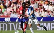 Atletico Madrid (l.) hat erstmals seit zwölf Heimspielen wieder ein Gegentor kassiert