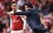 Mesut Özil scheint bei Unai Emery nicht mehr hoch im Kurs zu stehen