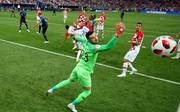 Mario Mandzukic brachte Kroatien im WM-Finale gegen Frankreich mit seinem Eigentor 0:1 in Rückstand