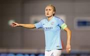 Im Spiel der Frauen von Manchester City (im Bild Kapitänin Steph Houghton) sorgte eine kuriose Schiedsrichterentscheidung für Aufsehen