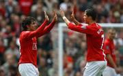 Carlos Tevez und Cristiano Ronaldo spielten einst zusammen bei Manchester United