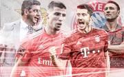 Robert Lewandowski und Niko Kovac müssen mit dem FC Bayern bei Benfica Lissabon antreten