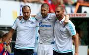 Schalke muss länger auf Matija Nastasic (M.) verzichten