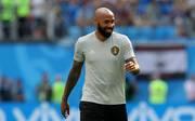 Thierry Henry in seiner Rolle als Co-Trainer der belgischen Nationalmannschaft