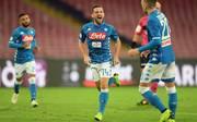 Neapel-Stürmer Dries Mertens hat im Spiel gegen Empoli zwei Tore erzielt
