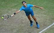 Roger Federer setzte sich gegen Matthew Ebden durch