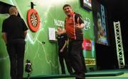 Mensur Suljovic eilt bei der Champions League of Darts weiter von Sieg zu Sieg