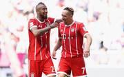 Arturo Vidal (l.) und Franck Ribery spielten drei Jahre gemeinsam beim FC Bayern München