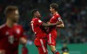Thomas Müller (r.) zeigte gegen Werder Bremen eine herausragende Leistung