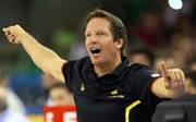 Basketball: Trainer Frank Menz verlässt Braunschweig zum Saisonende, Frank Menz betreute 2013 die deutsche Basketball-Nationalmannschaft