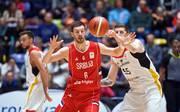 Stevan Jelovac spielte mit Serbien gegen Deutschland in der WM-Quali