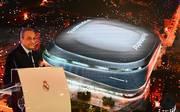 Real Madrids Präsident Florentino Perez gab den Startschuss für den Umbau des Santiago Bernabeu
