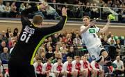 Handball-WM: Aussortierter Tobias Reichmann fliegt in den Urlaub, Tobias Reichmann (rechts) wurde aus dem deutschen Kader für die Heim-WM gestrichen