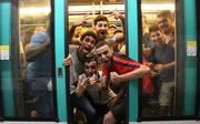 Die französischen Fans feierten Ausgelassen den Gewinn der Weltmeisterschaft