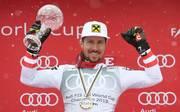 Marcel Hirscher setzt seine erfolgreiche Karriere fort