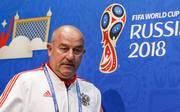 Die Zukunft von Stanislaw Tschertschessow als russischer Nationalcoach ist offen