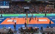Volleyball Playoffs Halbfinale:  Im zweiten Spiel der Halbfinalserie gegen die Hypo Tirol Alpenvolleys Haching fliegen die Berlin Recycling Volleys zum Sieg