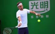 Roger Federer - Daniil Medvedev: ATP-Masters Shanghai LIVE im Ticker