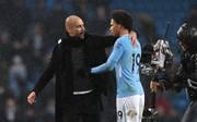 Pep Guardiola muntert Leroy Sane nach dessen WM-Ausbootung auf