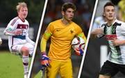 Mögliche Durchstarter in der UEFA Youth League: (v.l.) Felix Götze,  Luca Zidane und Joshua Holtby