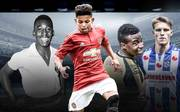 Wunderkinder im Fußball mit Pele, Shoretire, Moukoko, Odegaard