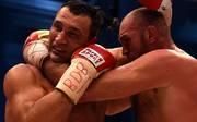 Wladimir Klitschko (l.) wurde am 28. November von Tyson Fury entthront