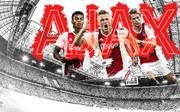 David Neres, Mattijs de Ligt und Frenkie de Jong (v.l.) wollen mit Ajax Amsterdam in der Champions League für Furore sorgen