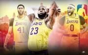 LeBron James, Anthony Davis, DeMarcus Cousins, Los Angeles Lakers