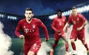 Lucas Hernández, Alphonso Davies und Niklas Süle - flinke Flitzer in Bayerns Abwehr