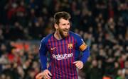 Lionel Messi besorgte nach seiner Einwechslung gegen Leganes die Entscheidung für Barcelona