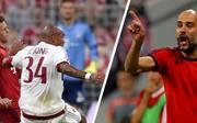 Nigel de Jong foult FC-Bayern-Zukauf Joshua Kimmich, Pep Guardiola ist sauer