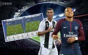 Cristiano Ronaldo und Kylian Mbappe sind in der FIFA-19-Demo spielbar